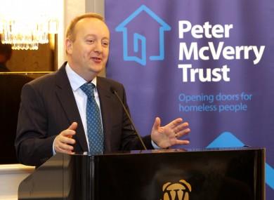 Peter McVerry Trust CEO Pat Doyle