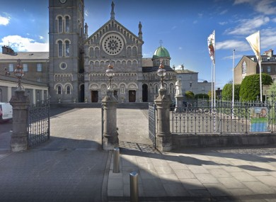 The Cathedral of the Assumption in Thurles (taken before damage to the statue)