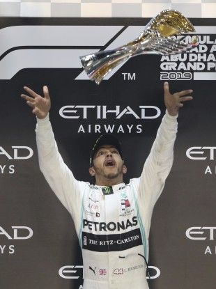 Hamilton: win number 84 of a stellar career.