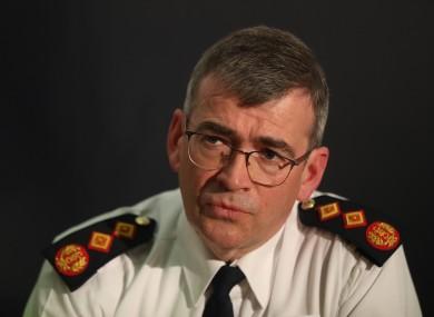 Garda Commissioner Drew Harris