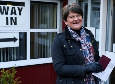 Arlene Foster's DUP could be in for a long night.