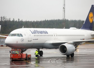 The Lufthansa flight was travelling from New York to Munich.