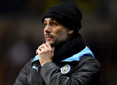 Pep Guardiola's current deal expires in 2021