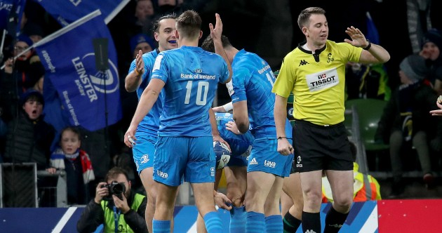 As it happened: Leinster v Northampton Saints, Champions Cup