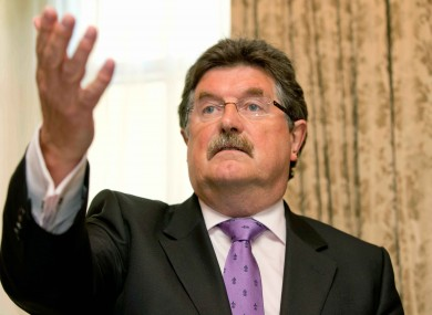 Former CEO of Athletics Ireland John Foley.