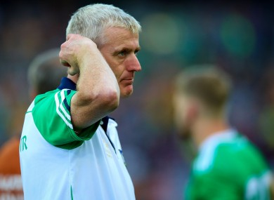The Limerick boss says he has nothing more to add about the situation.