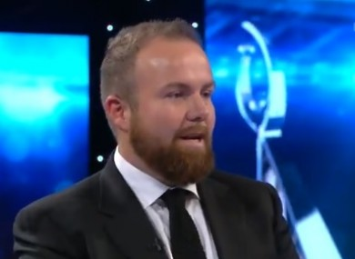 Shane Lowry dedicates his RTÉ Sportsperson of the Year award to a fellow Clara man, John Buckley, and the latter's family.