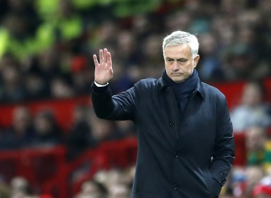 Tottenham Hotspur manager Jose Mourinho (file pic).