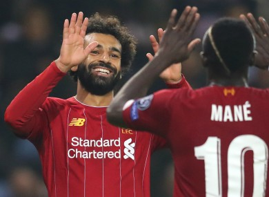 Liverpool's Mo Salah and Sadio Mane have both been nominated for African Player of the Year.