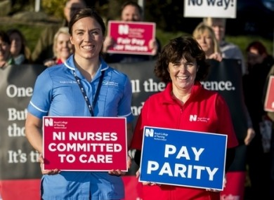 This is the first strike in the history of the Royal College of Nursing.