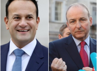 Martin said the Taoiseach appears to be weighing up his options.