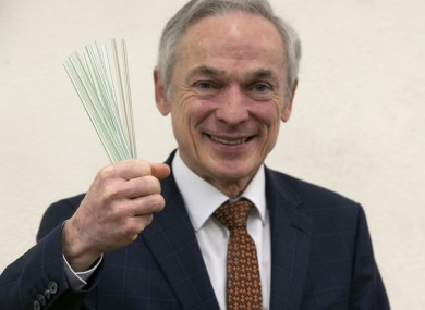 Minister for Climate Action Richard Bruton is planning a more sustainable Christmas.