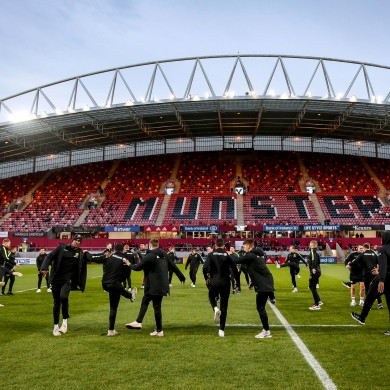 Anticipation is building in Thomond Park.