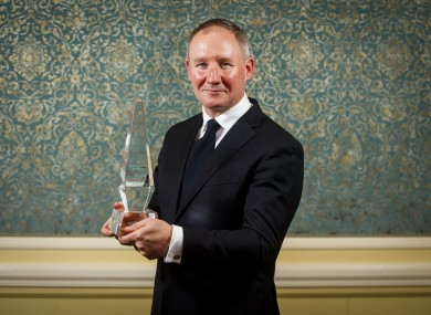 Signify Sports Manager of the Year, Jim Gavin