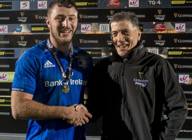 Connors: Flanker was named Man of the Match.