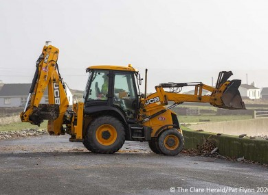 Clean up efforts in Clare.