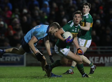 Kerry came out on top in last year's league meeting with Dublin.