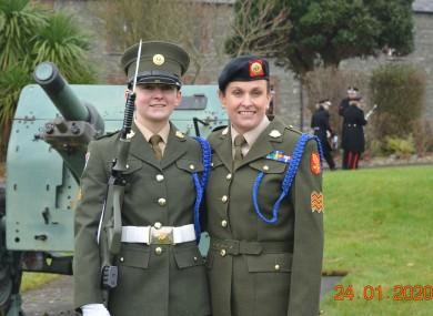 Sarah Fitzsimons and her mother Sandra Murphy.
