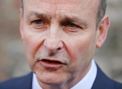 Fianna Fail Leader Micheal Martin says he wants to reduce the amount peoples' rents can rise in rent pressure zones.
