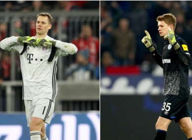 Alexander Nubel and Manuel Neuer are set to compete for the number one jersey at Bayern.
