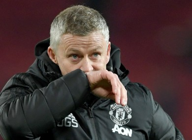 OGS: The United boss on the January transfer window.