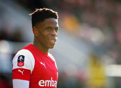 Chiedozie Ogbene of Rotherham United (file pic).