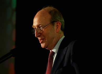 Minister for Transport, Tourism and Sport, Shane Ross