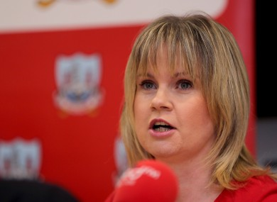 Cork County Board chairperson Tracey Kennedy.