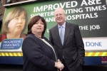 Progressive Democrats (PD) Mary Harney and Michael McDowell in 2007.