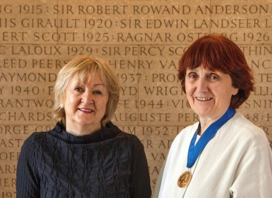 Yvonne Farrell and Shelley McNamara, the two founders of Grafton Architects.