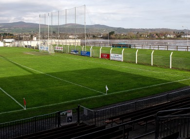A general view of Fraher Field.