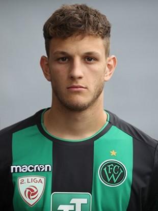Alexander Kogler was with FC Wacker Innsbruck before joining Grazer AK.