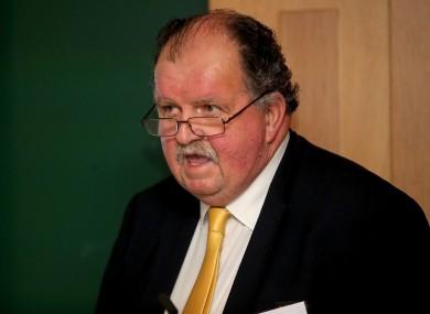 Basketball Ireland Secretary General, Bernard O'Byrne.