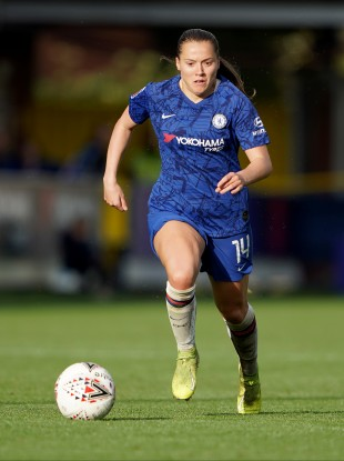 Fran Kirby is recovering from the viral illness.