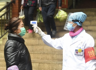 Extreme measures are still being taken to contain the virus in China.