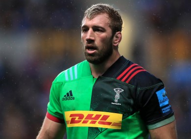 Robshaw says he 'looks forward to the next chapter'.