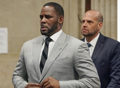 File photo. R Kelly.