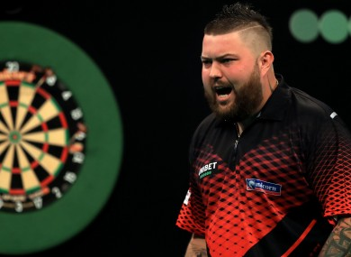 Nine-darter helped Smith to victory over Daryl Gurney.