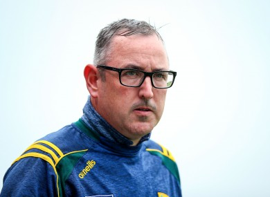 Kerry manager Fintan O'Connor.