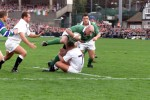 Keith Wood scores the winning try in 2001.
