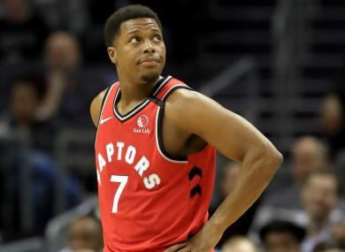 Toronto Raptors star Kyle Lowry.