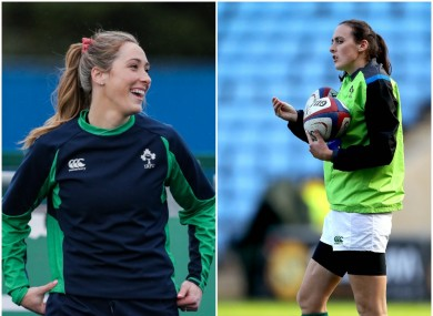 Considine, left, is nursing a knock leading to a call-up for Sevens star Tyrrell.