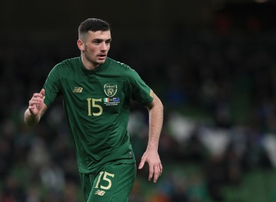 Troy Parrott made his debut for Ireland against New Zealand last November.