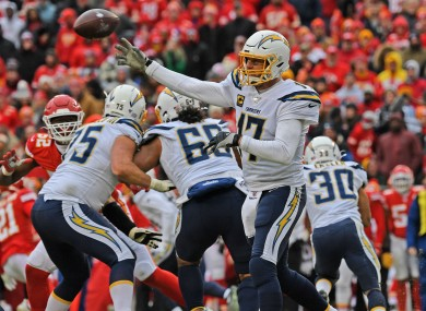 Quarterback Philip Rivers