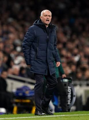Spurs manager Jose Mourinho.