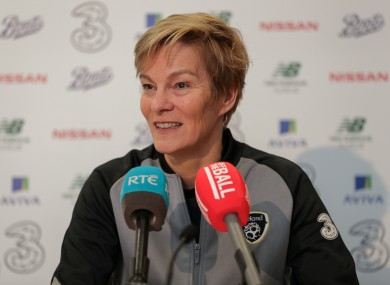 Ireland manager Vera Pauw.