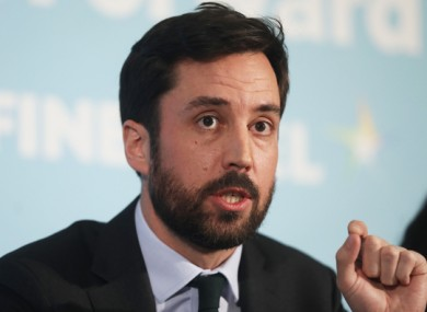 Housing minister Eoghan Murphy said that he is working with homeless services to prepare for Covid-19.
