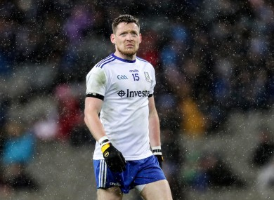 Monaghan's Conor McManus.