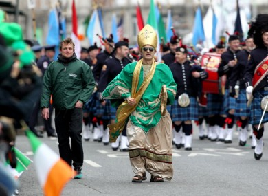 FILE PHOTO The St. Patrick's Day Parade in Dublin Photo: Sam Boal/RollingNews.ie