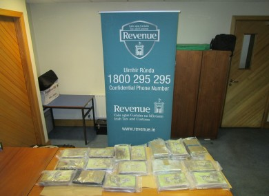 The seized drugs.